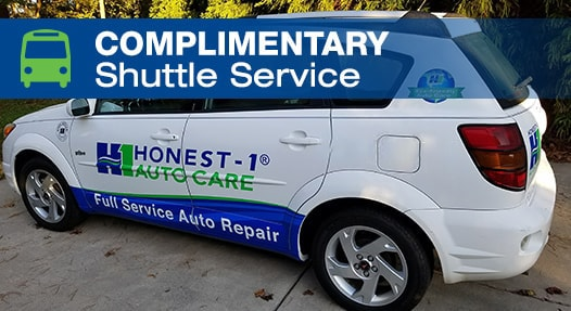 Complimentary Local Shuttle Service | Honest-1 Auto Care Federal Heights